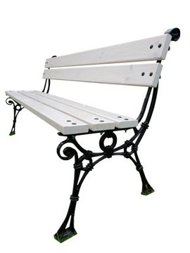 Садовая скамейка из алюминия в стиле ретро, скамейка в парке, скамейка для патио