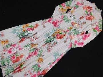 141078 ABC sukienka W KWIATY plisowana 54