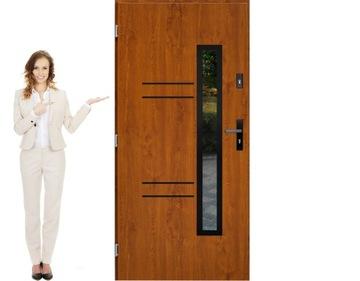 Двери входные польские, стальные 100 см