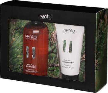 RENTO Sauna Honey Set, Очищающий гель из сосны