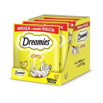DREAMIES Mega Cheese 4 x 180 г (0,72 кг)
