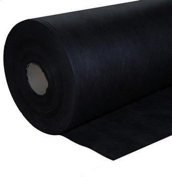 Нетканый агротекстиль 160 см 100 гр / м2 черный, толстый и прочный