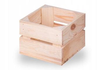 Деревянный ящик, деревянные ящики 22x20x15