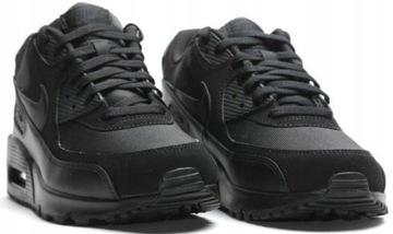 Nike AIR MAX 90 ESSENTIAL 537384-090 CZARNE r45