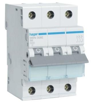 Автоматический выключатель MBN320E 3P B20 Hager