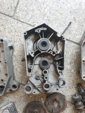 Двигатель запчасти romet мопедик 019 3 передачи, фото 6