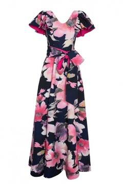 Sukienka Chruscinska W Sukienki Wieczorowe Moda Damska Na Allegro Pl