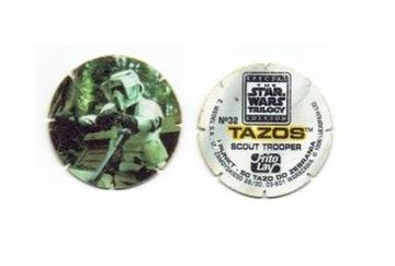Звездные войны: трилогия, издание: Tazos, 1996 г.