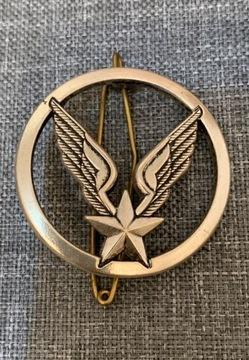 Старая брошь-кулон в виде украшения на медаль