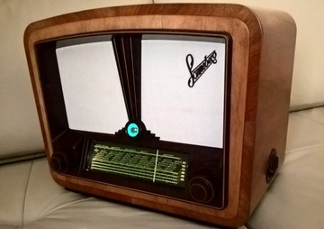 старинное ламповое радио Sonneberg Super 65 / 52W