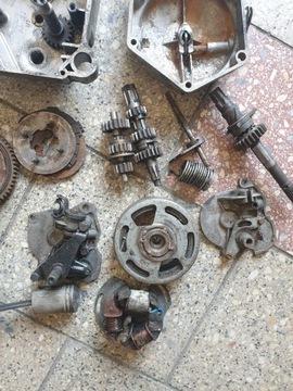 Двигатель запчасти romet мопедик 019 3 передачи, фото 1