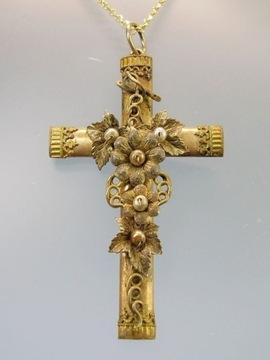 Викторианский крест, золото на серебре, около 1890 года.