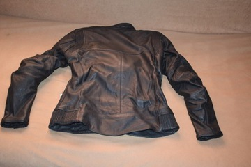 Куртка женская мотоциклетная кожа adrenaline runa m, фото 3