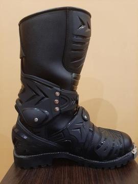Ботинки cross enduro черное петля okucie 28, 8cm, фото 2