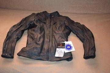 Куртка женская мотоциклетная кожа adrenaline runa m, фото 2