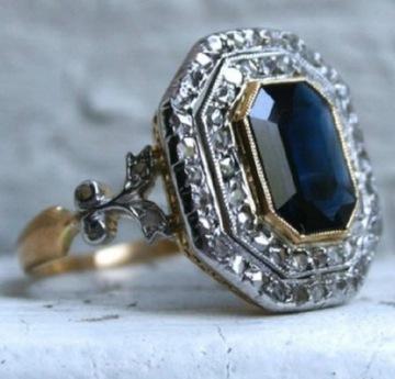 Кольцо в стиле девятнадцатого века.