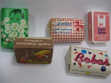 набор из 5 мыл с рубежа ПНР / 3 RP KAJTEK / BOBAS /