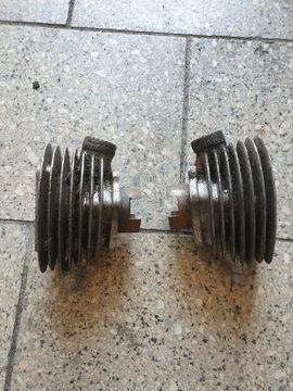 Цилиндр двигатель запчасти romet мопедик komar g12, фото 2
