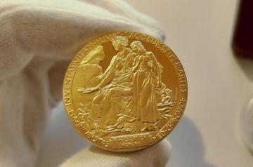 Медаль / Монета АЛЬФРЕД НОБЕЛЬ После коллекционера