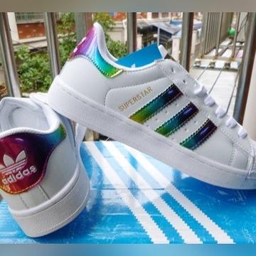 buty adidas superstar rainbo