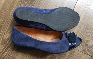 kobiece obuwie skurzane - Gabor comfort - EU 38