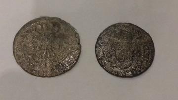 Следует распознать две очень старые монеты