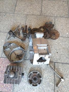 Двигатель запчасти romet мопедик 023 2 передачи, фото 11