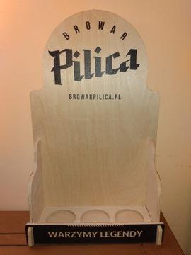 Красивая витрина для 3 бутылок пивоварни Пилица.