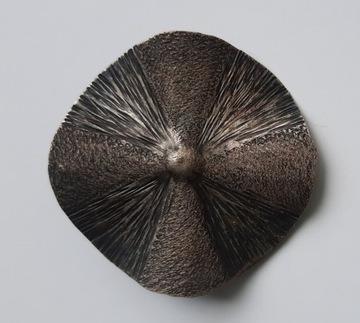 Серебряная брошь из Польской Народной Республики