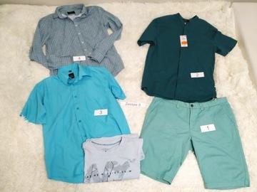 Mega paka Reserved, koszule, spodenki L