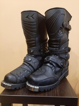 Ботинки cross enduro черное петля okucie 28, 8cm, фото 0