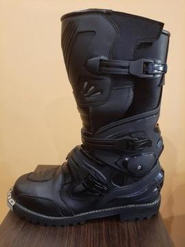 Ботинки cross enduro черное петля okucie 28, 8cm, фото 4