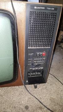 Винтажный телевизор Unitra T 50 05