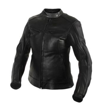 Куртка женская мотоциклетная кожа adrenaline runa m, фото 0