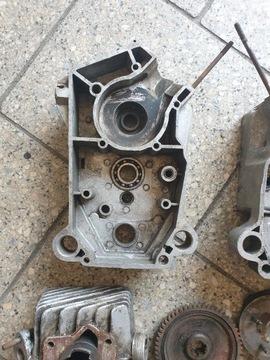 Двигатель запчасти romet мопедик 019 3 передачи, фото 4