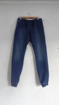 Slim fit spodnie dżinsowe 30R