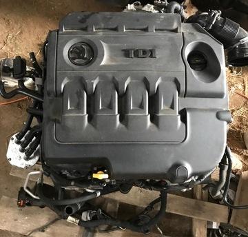 Двигатель комплектный dfh 2, 0 tdi volkswagen skoda seat, фото 0