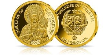Самые маленькие монеты - Ченстоховская Богоматерь.