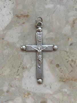 Крест сувенир из Ченстоховы. Серебро 19 века 84