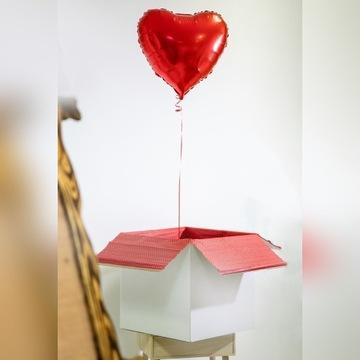 Pudlo Z Balonami Pudlo Balony I Akcesoria Weselne Allegro Pl