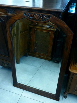 Дубовое зеркало в стиле модерн - магазин Dąbrowa Górnicza
