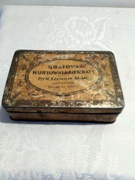 Две упаковки чая M. Szumilin Sp. Akc 1840