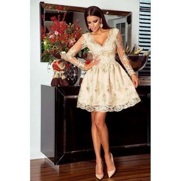 Sukienka Emu W Sukienki Wieczorowe Moda Damska Na Allegro Pl