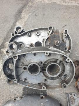 Двигатель запчасти romet мопедик komar kadet 003, фото 4