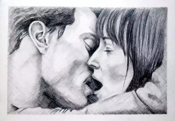 ПОРТРЕТ по фото, рисунок карандашом