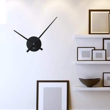Czarny zegar WALPLUS FlexiClock WC2050