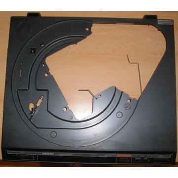 ONKYO CP1026A plastikowy korpus czarny gramofon