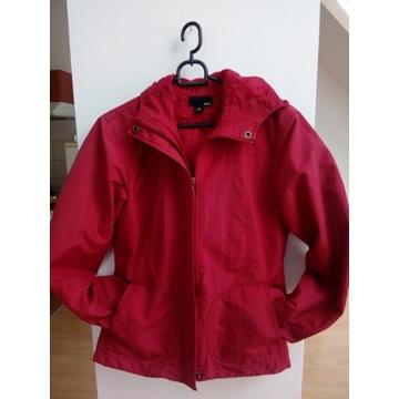 Kurtka czerwona przejściowa H&M, 36 (S)