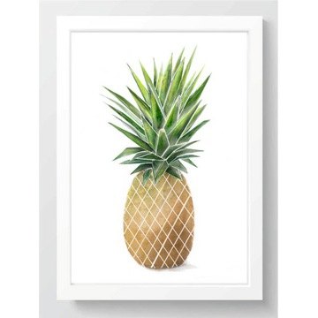 PLAKAT A4 210x297 mm ANANAS
