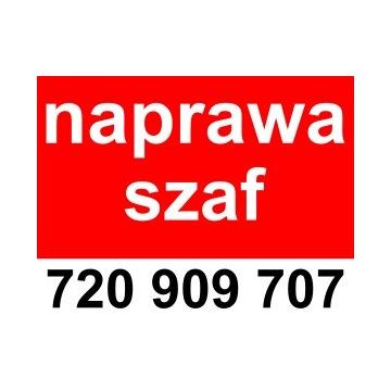 Naprawa Drzwi Przesuwnych Szaf Wnękowych Warszawa